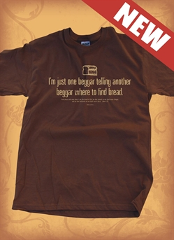 Red Letter 9 Beggar T-Shirt. Large. Save 75%.